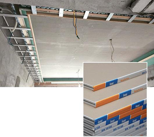 保温隔蒸汽层吊顶系统