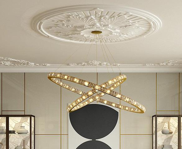 大宅之道在于舒适 不同灯饰的使用,烘托不同的室内氛围